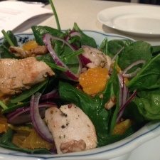 Turkey and spinach salad 2