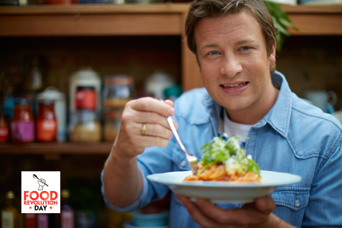 Join jamie oliver s food revolution hot links lea - Cuisine jamie oliver ...