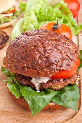 healthy hamburger